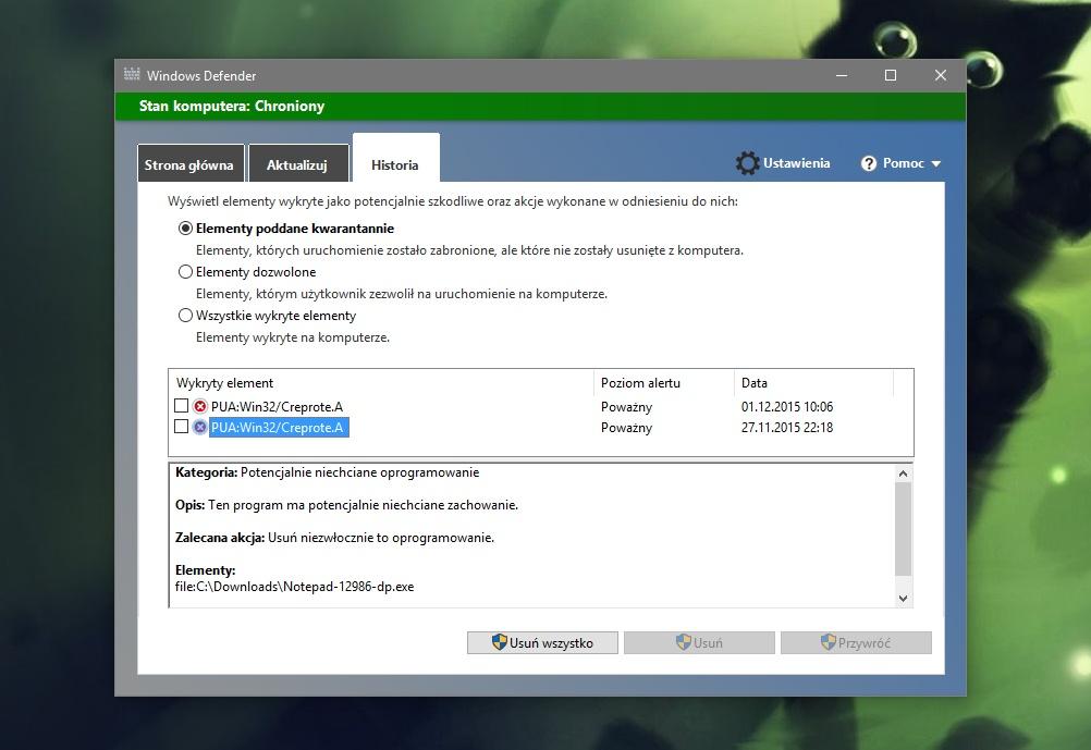 Windows Defender - PUA #2