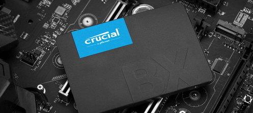 Test dysków SSD Crucial BX500 - Tańsza wersja Crucial MX500