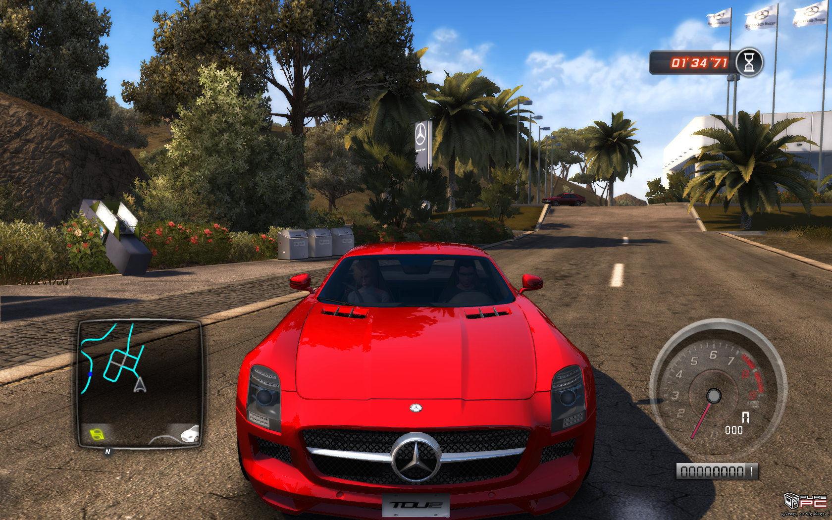 Generalnie, Test Drive Unlimited 2 oferuje więcej wszystkiego, zaś podstawo