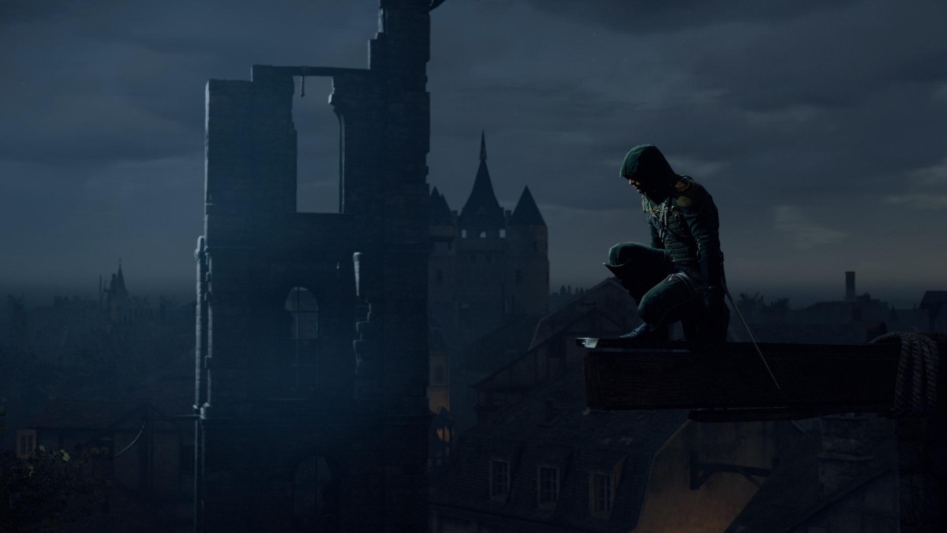 Assasin на крыше в хорошем качестве