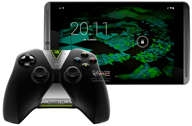Nvidia shield tablet z tegra k1 test najlepszego tabletu do gier
