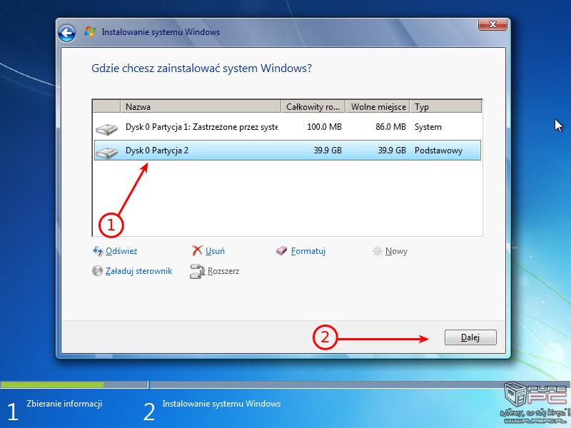 Jak zainstalowac Windows 7 - Poradnik krok po kroku z pendrive i ...