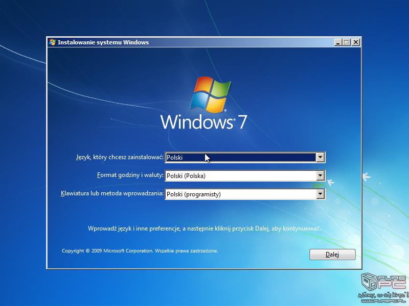 Jak zainstalować windows 7 poradnik krok po kroku z pendrive i.