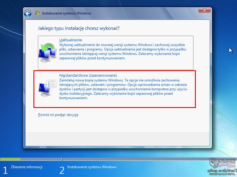 Jak zrobic format windows 7 (mlosinsk) video na freedisc. Pl.