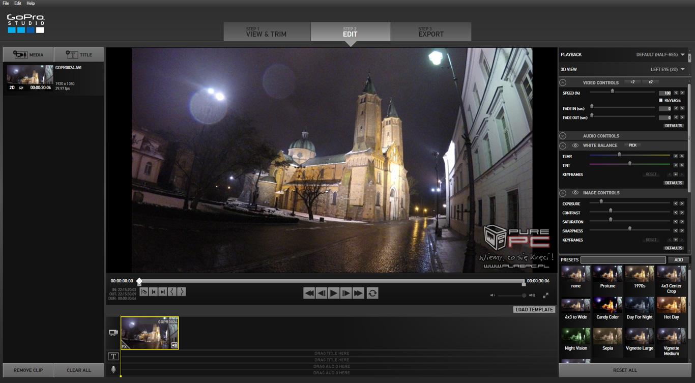 Gopro hero4 black test kamery do ekstremalnych nagra for Gopro studio templates download