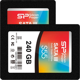 test dysków ssd silicon power s55