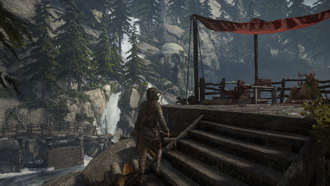 test kart graficznych nvidia geforce i amd radeon - rise of the tomb raider