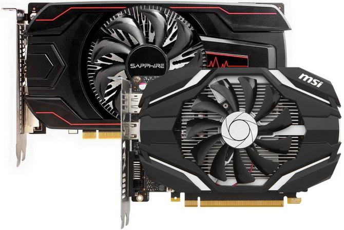 GeForce GTX 1050 Ti vs Radeon RX 560 4 GB - Test kart graficznych