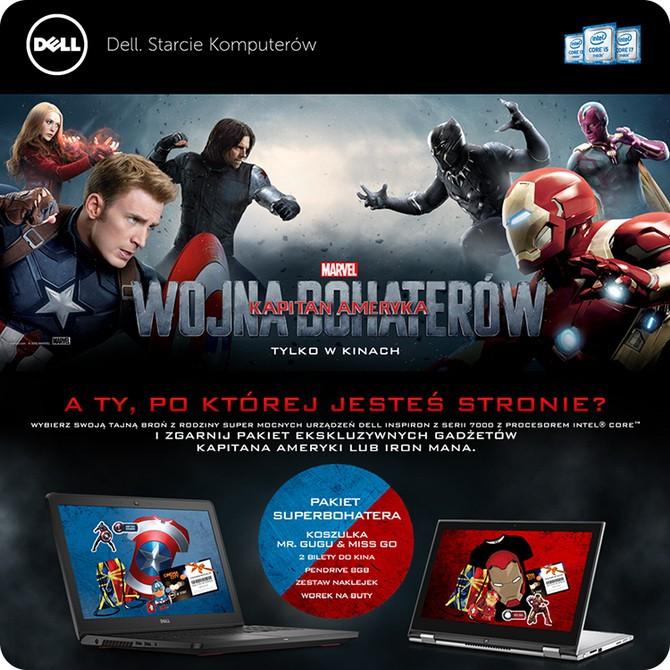 Dell Starcie Komputerów – zgarnij pakiet Superbohatera