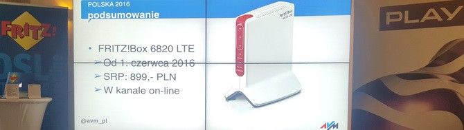 Nowy FRITZ!Box 6820 LTE - router 3G/LTE