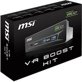 MSI VR Boost Kit - panel z portami USB 3.0 i HDMI 1.4