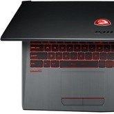 MSI GV62 i GV72 - nowe laptopy z kartami NVIDIA GeForce
