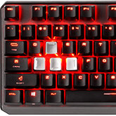Klawiatura gamingowa MSI Vigor GK60: aluminium i Cherry MX Red