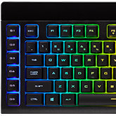 Test klawiatury Corsair K57 RGB Wireless - Membrana bez kabli