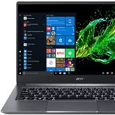 Acer Swift 3 (2019) - test ultrabooka z Intel Core i5-1035G1 i MX250