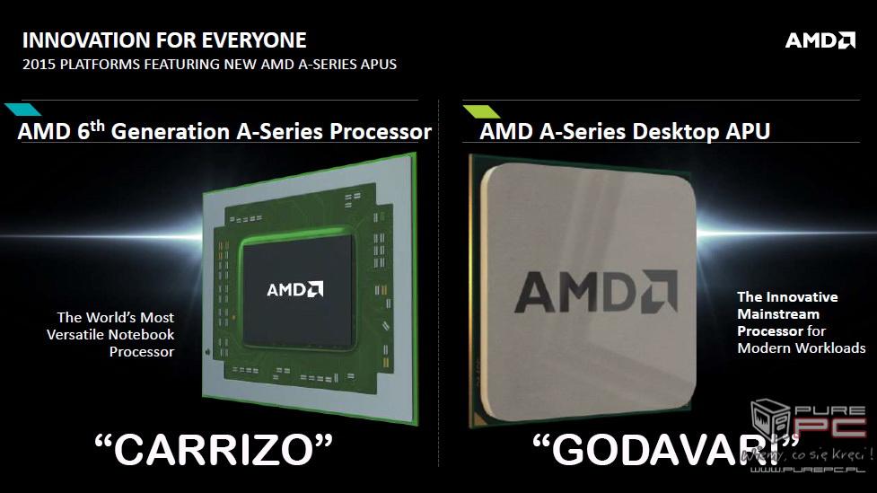 AMD APU Carrizo - Konferencja poświęcona nowym procesorom ...