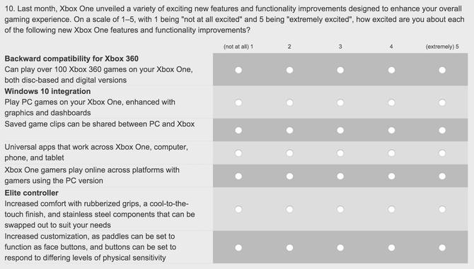 Ankieta Xbox