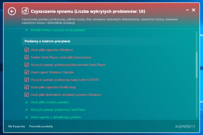 Kaspersky Cleaner #3