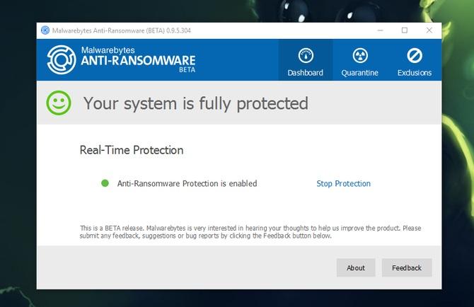 Malwarebytes Anti-Ransomware #1