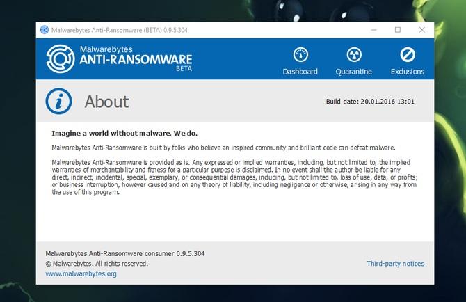 Malwarebytes Anti-Ransomware #4