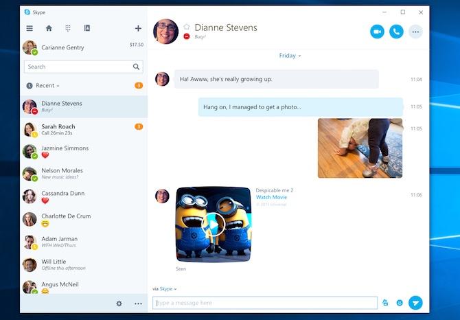 Skype UWP #1