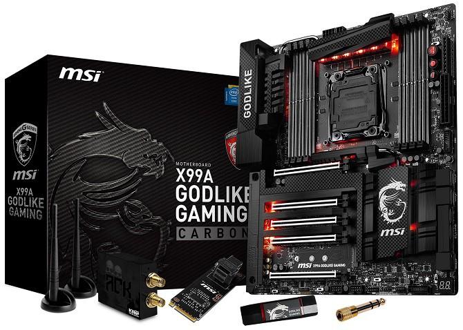X99A Godlike Gaming Carbon - Płyta główna dla entuzjastów
