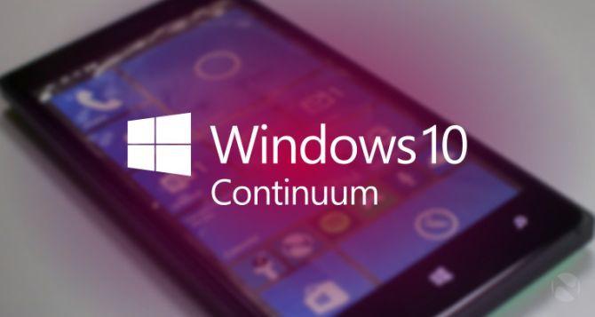 Microsoft Continuum - Jeden by wszystkimi rządzić