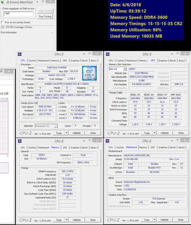 Nowe pamięci G.Skill Trident Z DDR4 3600 MHz CL15