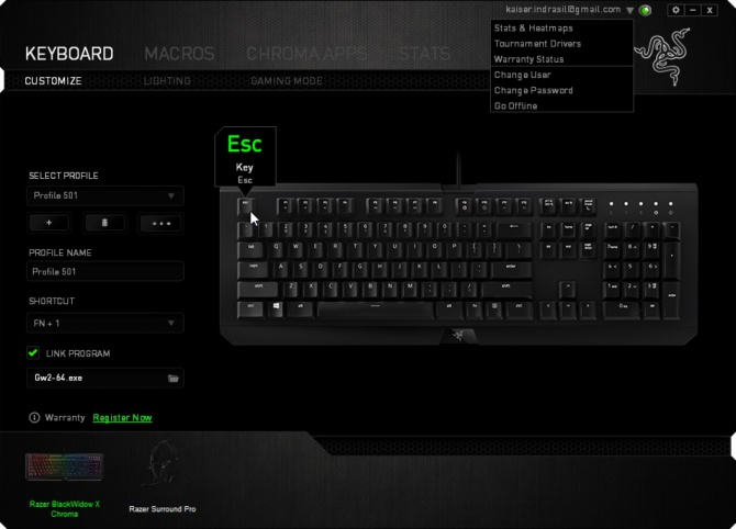 Razer BlackWidow X Chroma - Test klawiatury mechanicznej [2]