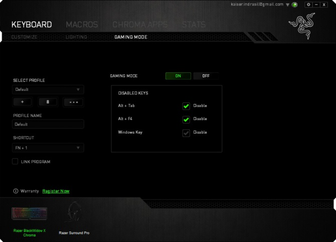 Razer BlackWidow X Chroma - Test klawiatury mechanicznej [14]