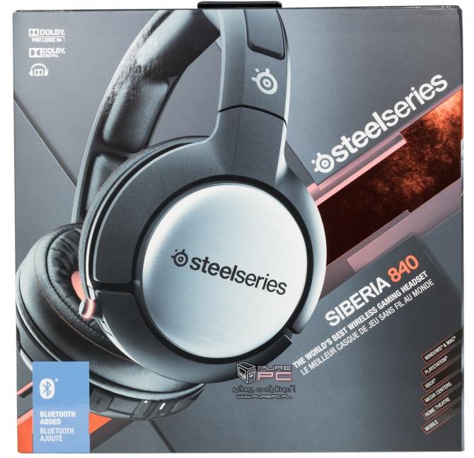 SteelSeries Siberia 840 - bezprzewodowy zestaw słuchawkowy [2]