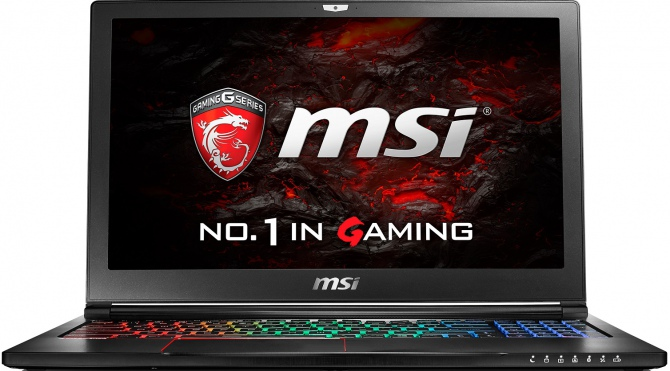 MSI GS63VR - Test najlżejszego laptopa z GeForce GTX 1060 [60]