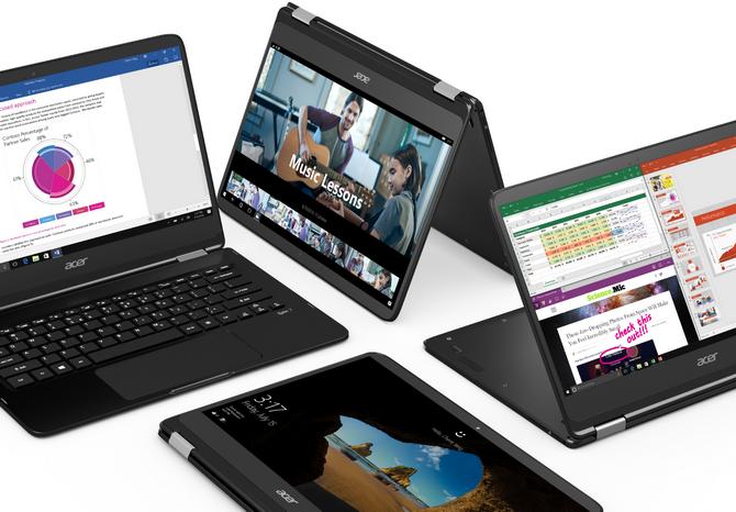 Hybryda 2w1 czy ultrabook Porównujemy Acer Swift i Acer Spin [1]