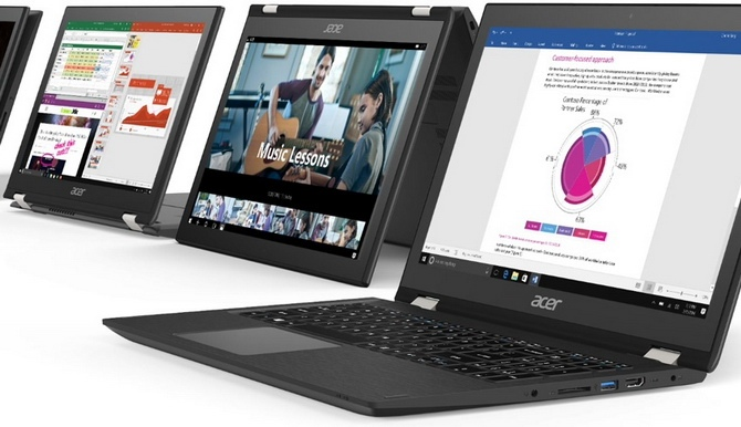 Hybryda 2w1 czy ultrabook Porównujemy Acer Swift i Acer Spin [5]
