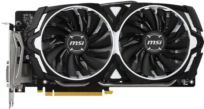 Test karty graficznej MSI GeForce GTX 1060 Armor OCV1 6GB [1]