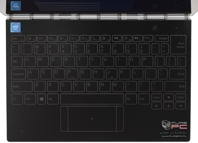 Test Lenovo YOGA Book - Hybryda 2w1 z haptyczną klawiaturą [nc3]