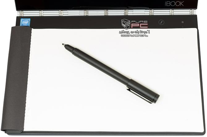 Test Lenovo YOGA Book - Hybryda 2w1 z haptyczną klawiaturą [nc5]