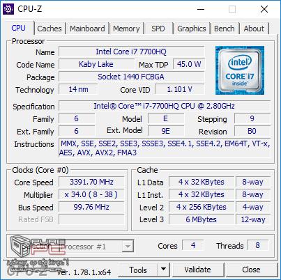 Test GeForce GTX 1050 2GB vs GTX 1050 4GB w laptopach MSI [46]