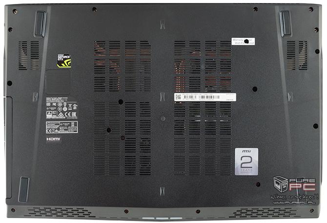 Test GeForce GTX 1050 2GB vs GTX 1050 4GB w laptopach MSI [nc4]