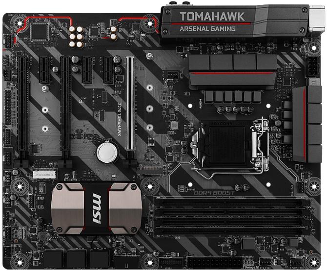 Test płyty głównej MSI Z270 Tomahawk - Rakieta dla gamerów [2]
