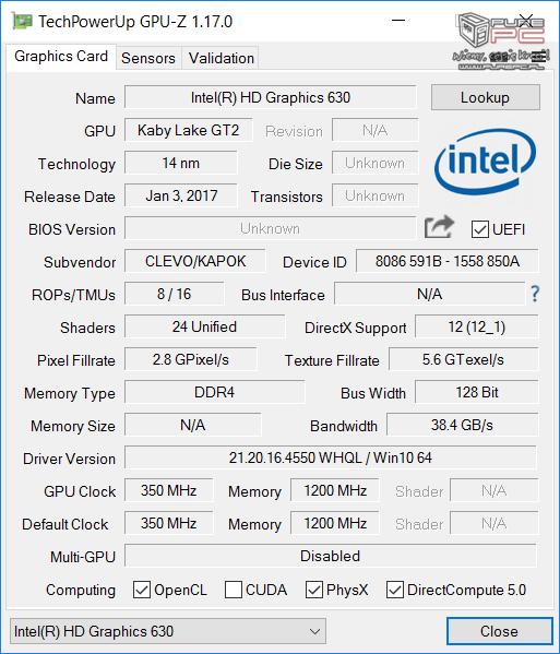 Test gamingowego notebooka SMART7 L514C z GeForce GTX 1050Ti [7]
