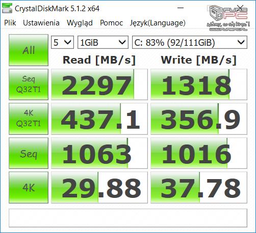 Test gamingowego notebooka SMART7 L514C z GeForce GTX 1050Ti [9]
