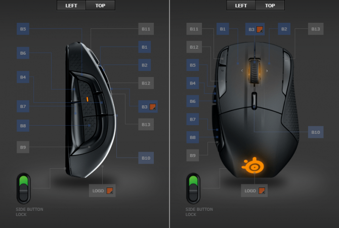 Test SteelSeries Rival 500 - Mysz do MMO z dobrym sensorem [15]