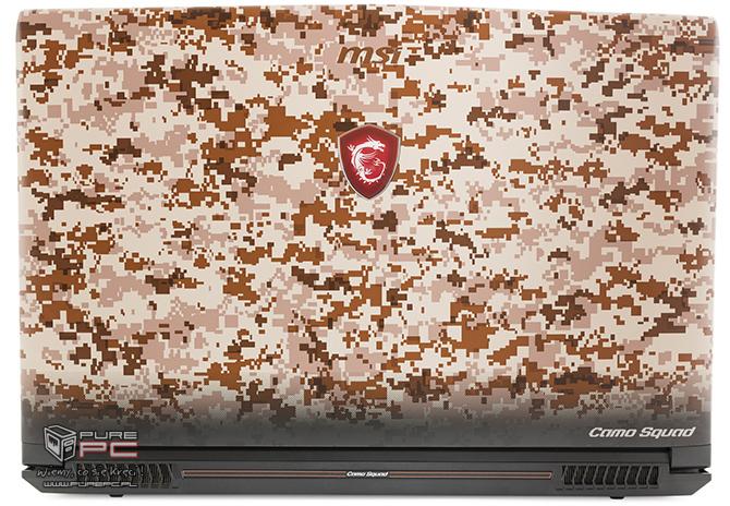 Test MSI GE62VR 7RF Camo Squad - laptop w wojskowych barwach [nc2]
