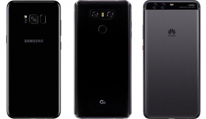 Porównanie aparatów w Samsung S8+, LG G6 i Huawei P10 [2]