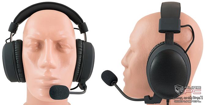 Test słuchawek Sharkoon B1 - Gaming też może być skromny [nc11]