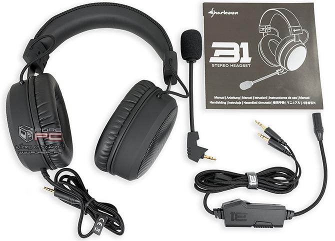 Test słuchawek Sharkoon B1 - Gaming też może być skromny [nc3]