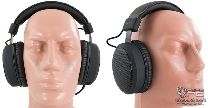 Test słuchawek Sharkoon B1 - Gaming też może być skromny [nc10]