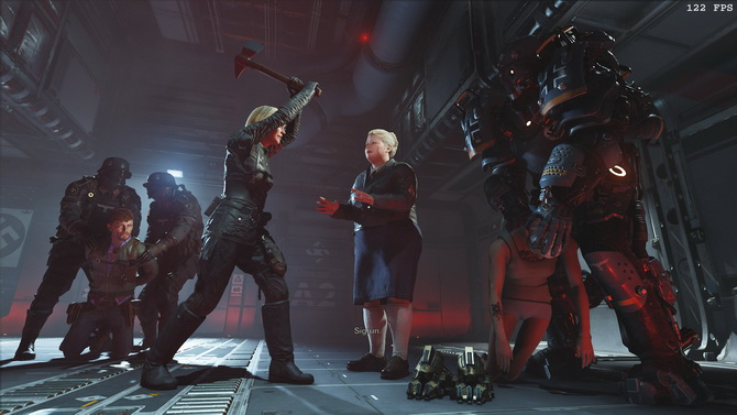 Recenzja Wolfenstein II: The New Colossus PC - Niemca w hełm [nc2]