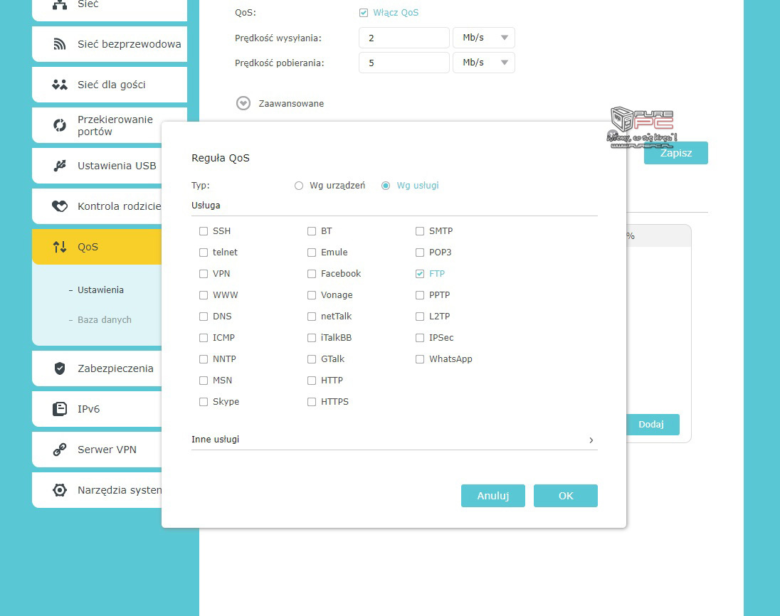 Poradnik sieciowy  Część 8 – Konfiguracja funkcji routera